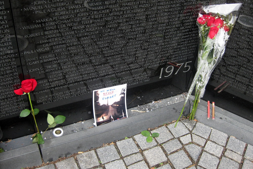 Washington Dc Vietnam Veterans Memorial Wall The