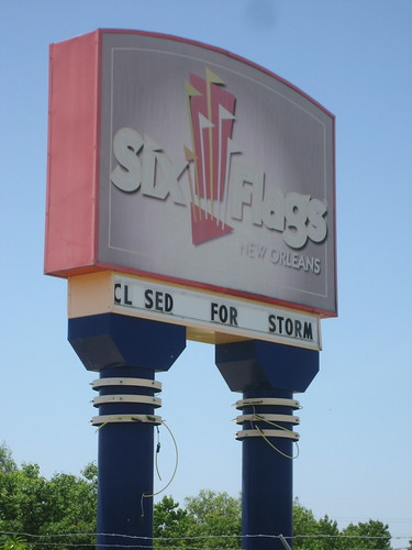 Six Flags NOLA CL SED FOR STORM | by Infrogmation