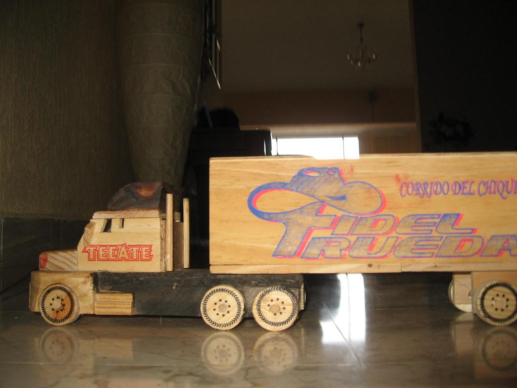 Trailer de madera | Trailer de madera. Hecho en Puebla ...