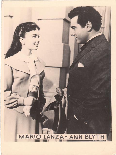 """Mario Lanza, Ann Blyth - """"The Great Caruso"""" (1951)"""