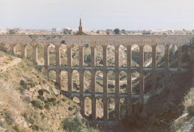 romersk akvedukt i Spanien