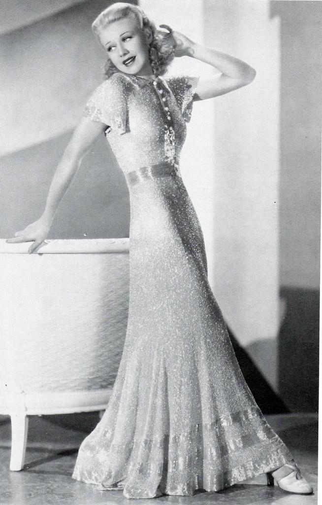 Ginger Rogers In Quot In Person Quot 1935 Designer Bernard