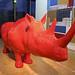 Big red rhino