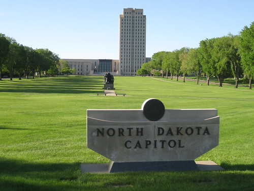 North Dakota Capitol Standing Tall | by puroticorico