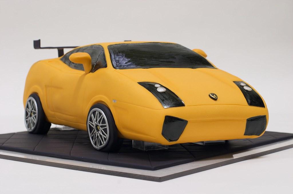 Lamborghini Cake Www Studiocake Com Bethann Goldberg Flickr