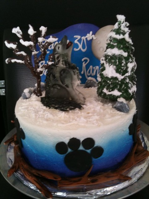 Wolf Cake Decorations