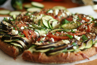 Ratatouille Pizza-11 | by Sonia! The Healthy Foodie