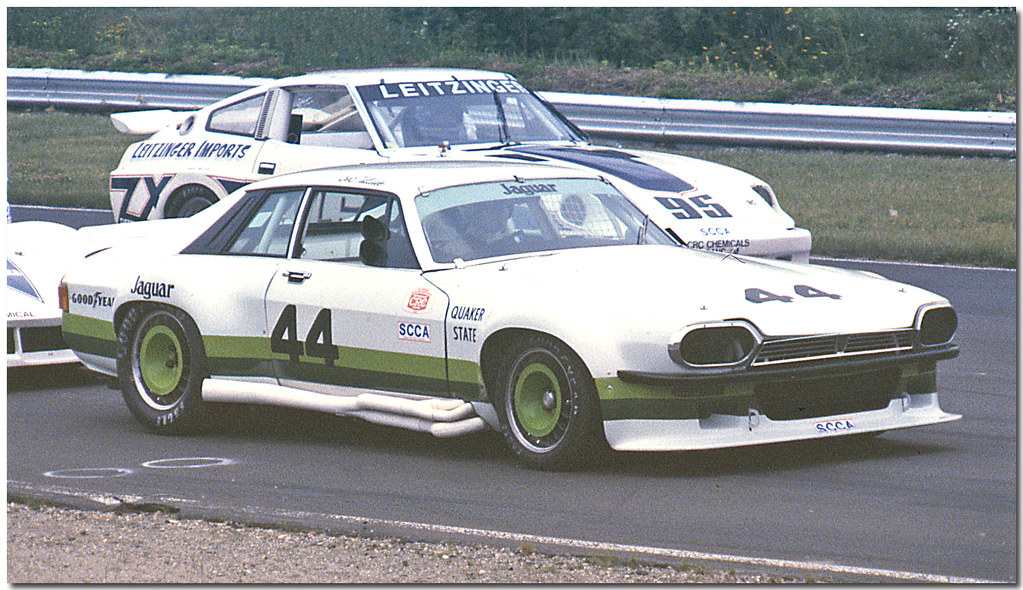 New Trans Am >> Group 44 Jaguar   On the grid at Lime Rock for a Trans-Am, B…   Flickr