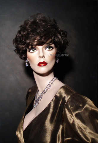 Joan Collins Rootstein Mannequin With Glass Eyes