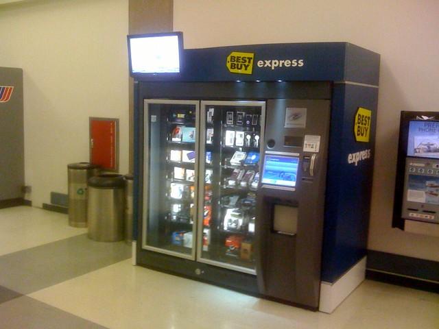 Best Buy Vending Machine Lax