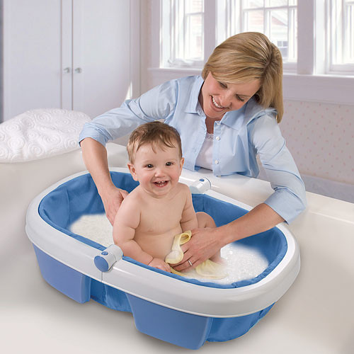 summer infant newborn to toddler portable folding bath tub flickr. Black Bedroom Furniture Sets. Home Design Ideas