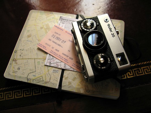 Rollei and Moleskine resting | by Per Svensson