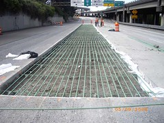 Panel replacement in the express lanes | by WSDOT
