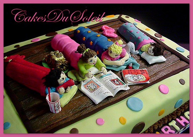 Southern Blue Celebrations: SLUMBER PARTY CAKE IDEAS