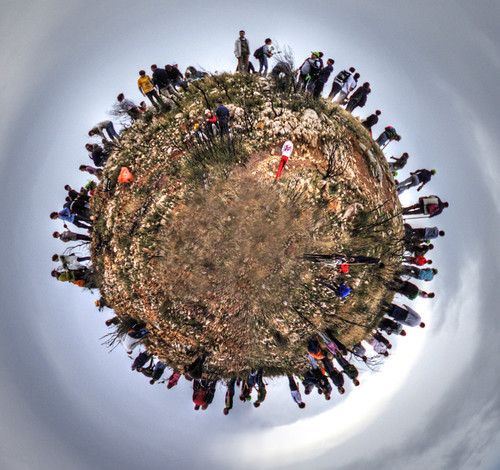 little planet pendeli:  volunteer reforestation project:  25/365 | by helen sotiriadis
