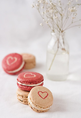 """Lovely"" Spiced Buttercream Macarons 