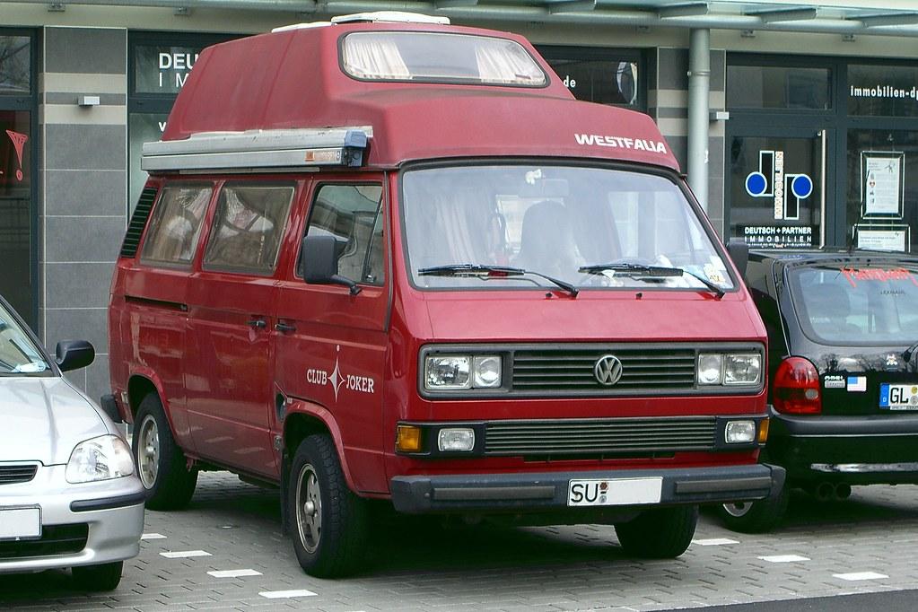 vw bus t3 westfalia club joker spotted in siegburg. Black Bedroom Furniture Sets. Home Design Ideas