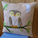 hoot, hoot, hooray - pillow cover