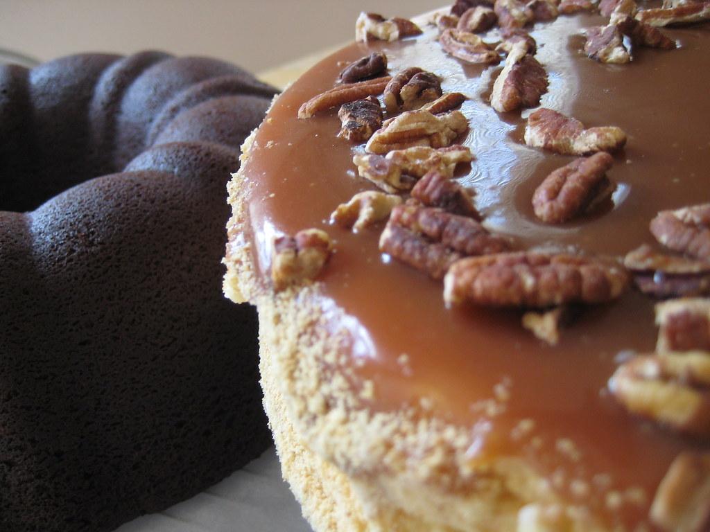 Caramel Sour Cream Coffee Cake
