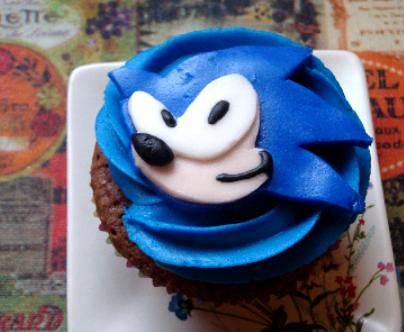 Sonic Cupcake I Had Some Left Over Cupcakes And Some