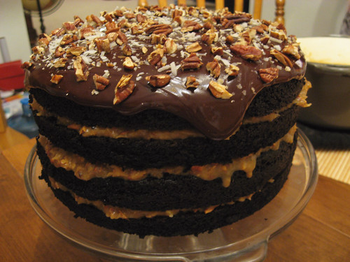 German Chocolate Cake Recipe For Two