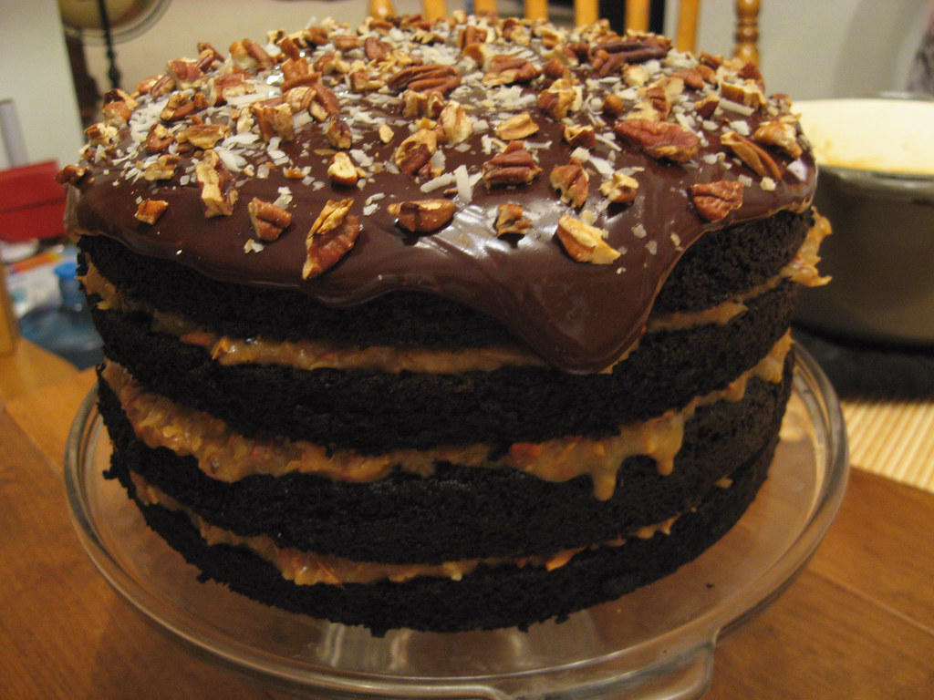 German Chocolate Cake Filling And Frosting