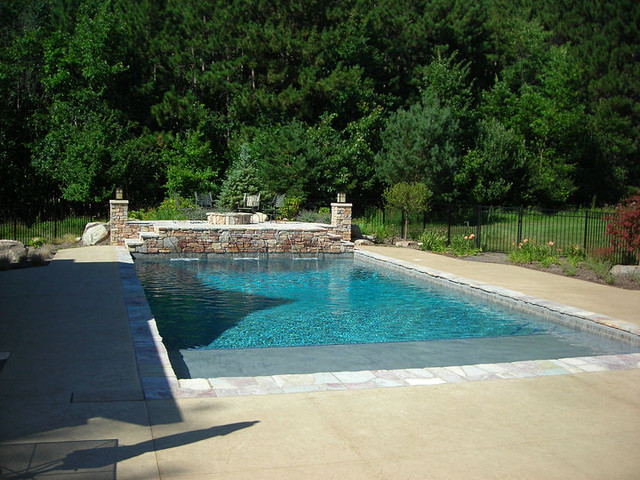 22 39 x 42 39 rectangle pool with sun shelf flickr photo for Pool design with sun shelf
