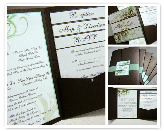 vietnamese wedding invitations | please contact me for more … | flickr, Wedding invitations
