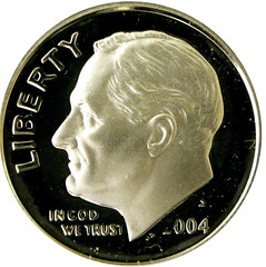Silver Roosevelt Dime 2004 proof | by kevin dooley
