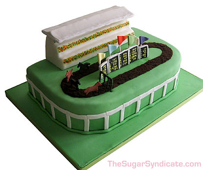 Horse Racing Cake Images
