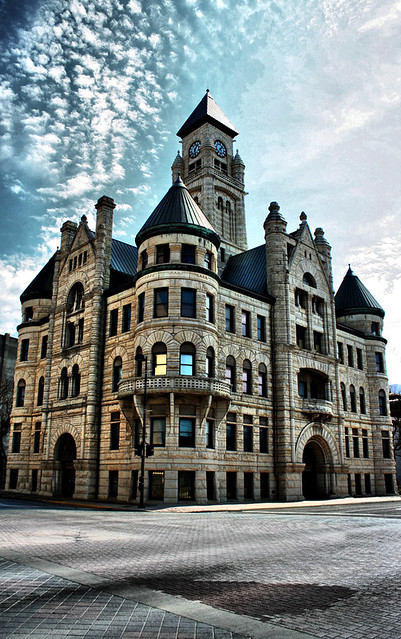 Foyer Museum Jobs : Old wichita city hall building located in downtown