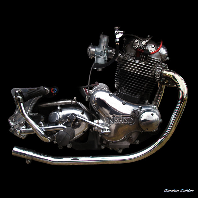 no 35 classic norton commando 850 motorcycle engine flickr. Black Bedroom Furniture Sets. Home Design Ideas