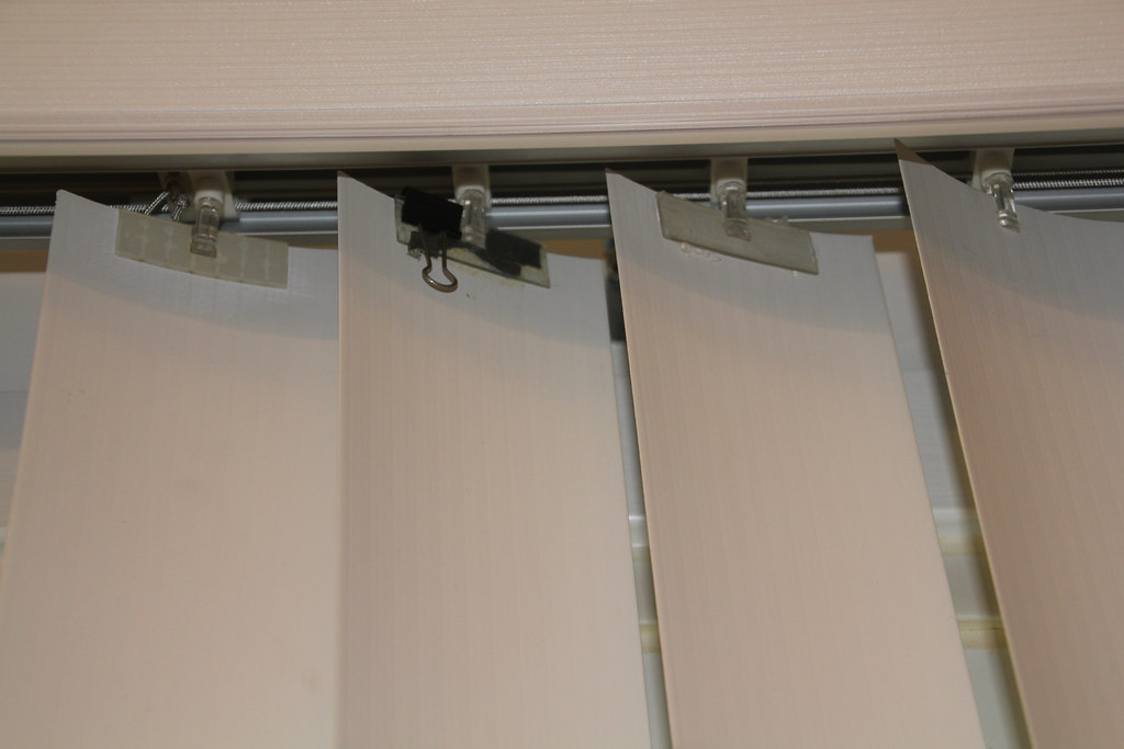 Vertical Blinds Temporary Repair Vertical Blinds And