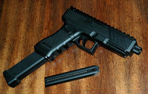 Glock 40 Extended Clip Silencer | www.pixshark.com ...