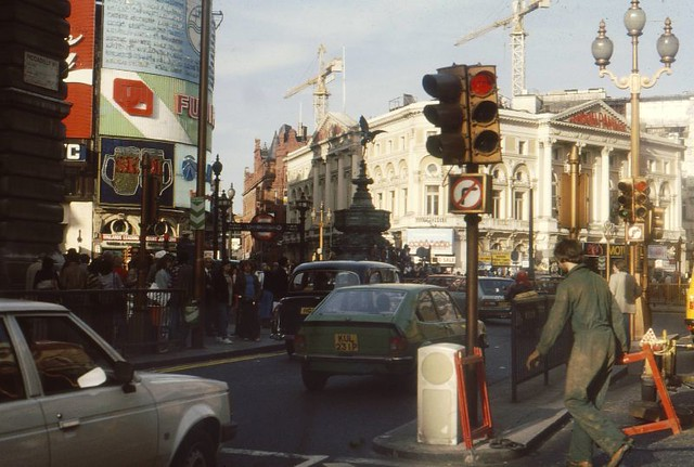 Piccadilly Circus 1980 Nick Flickr