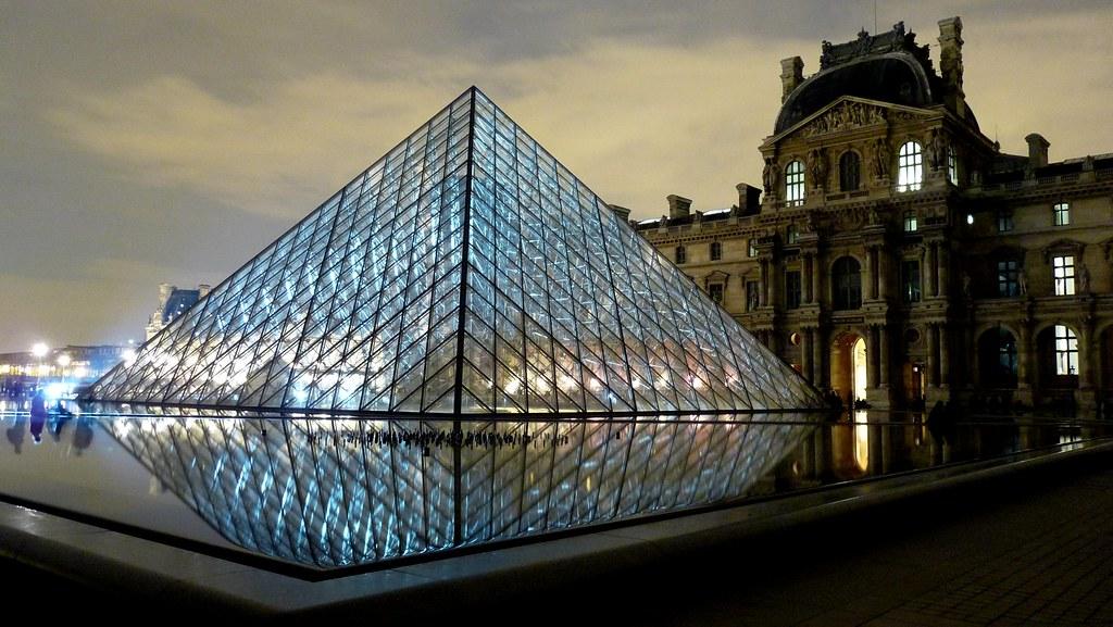 20 ans de la pyramide du louvre yann caradec flickr - Pyramide du louvre inauguration ...