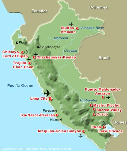 Mapa Del Per 250 Map Of Peru Douglas Fernandes Flickr