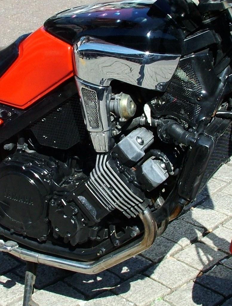 Yamaha Four Stroke Snowmobile Engine