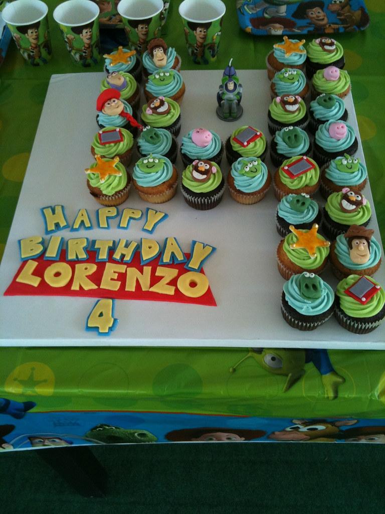 Toy Story Cupcakes Gina Montesino Flickr