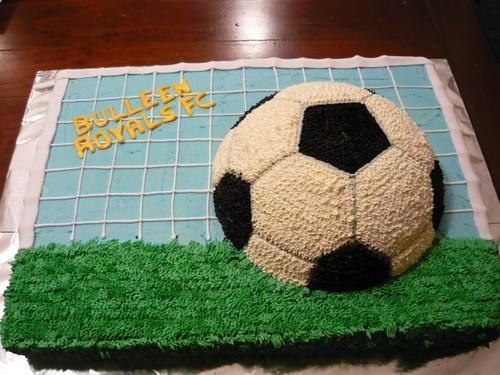 Cake Soccer Ideas