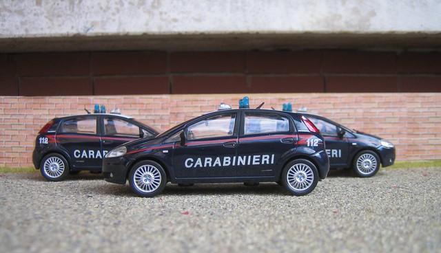 Italia Carabinieri Fiat Grande Punto 2005 Gianfranco Flickr