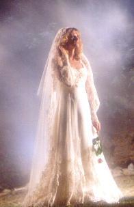 Phyllis In Her Wedding Dress 1983