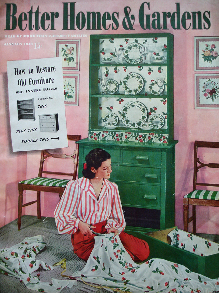 Better Homes And Gardens Cover January 1943 Amy Em Flickr