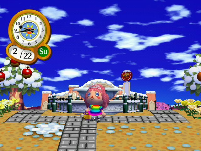Animal Crossing City Folk Pics Tiara Hair | Another view of … | Flickr