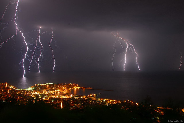 ... A lighting storm | by Mavroudakis Fotis & A lighting storm | the city of kavalaGreece during an awesou2026 | Flickr azcodes.com