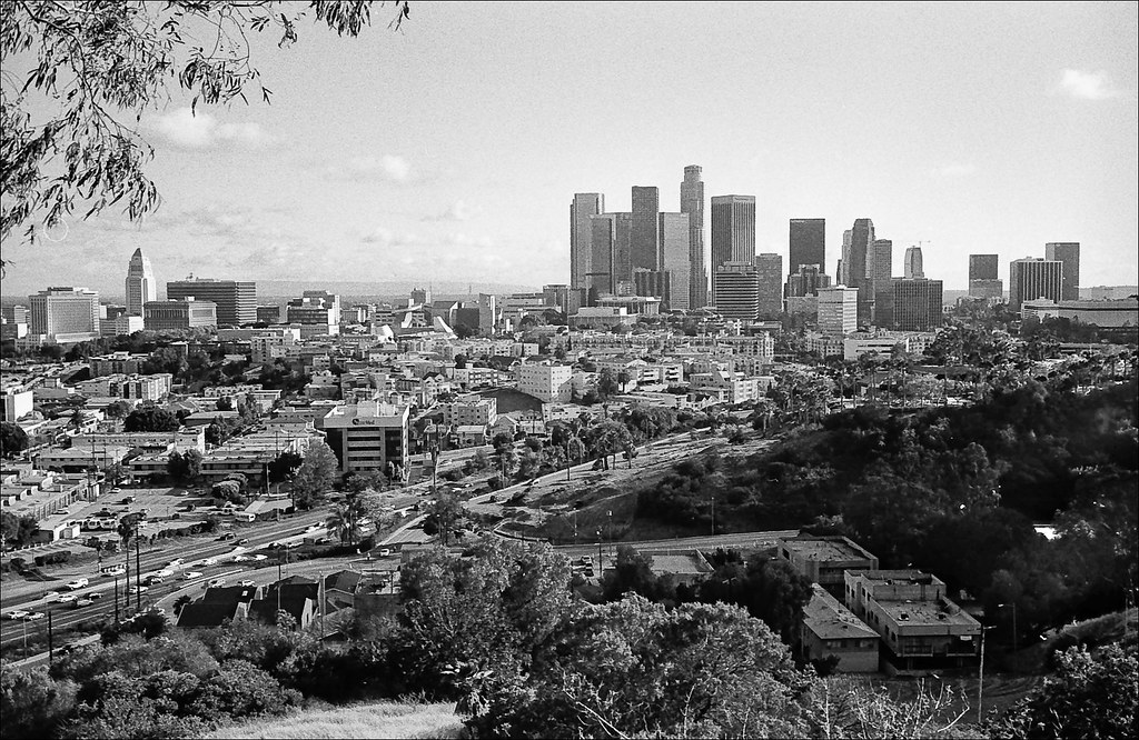 Los Angeles, from Chavez Ravine | I got to the Dodger game e… | Flickr