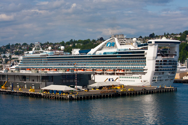 Seattle - Cruise Ship | Another Cruise Ship - This One Follou2026 | Flickr - Photo Sharing!