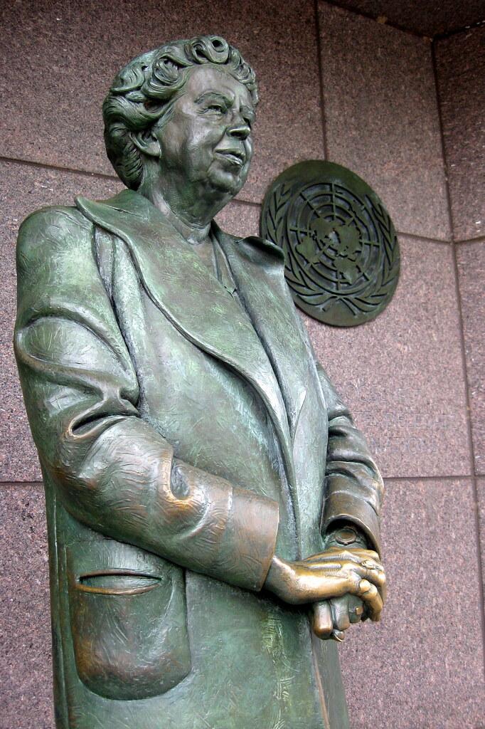 Washington Dc Fdr Memorial 4th Term Eleanor Roosevelt