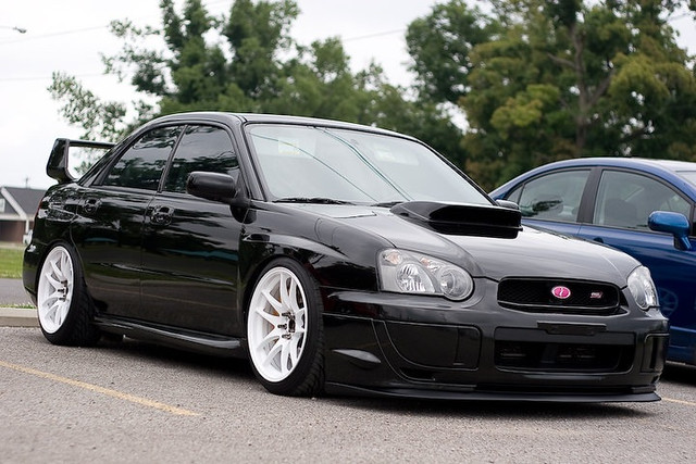 Civicseth S 2004 Subaru Impreza Wrx Sti Shot From The