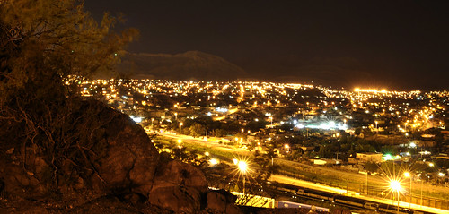 Ciudad Juarez At Night From El Paso Texas Flickr